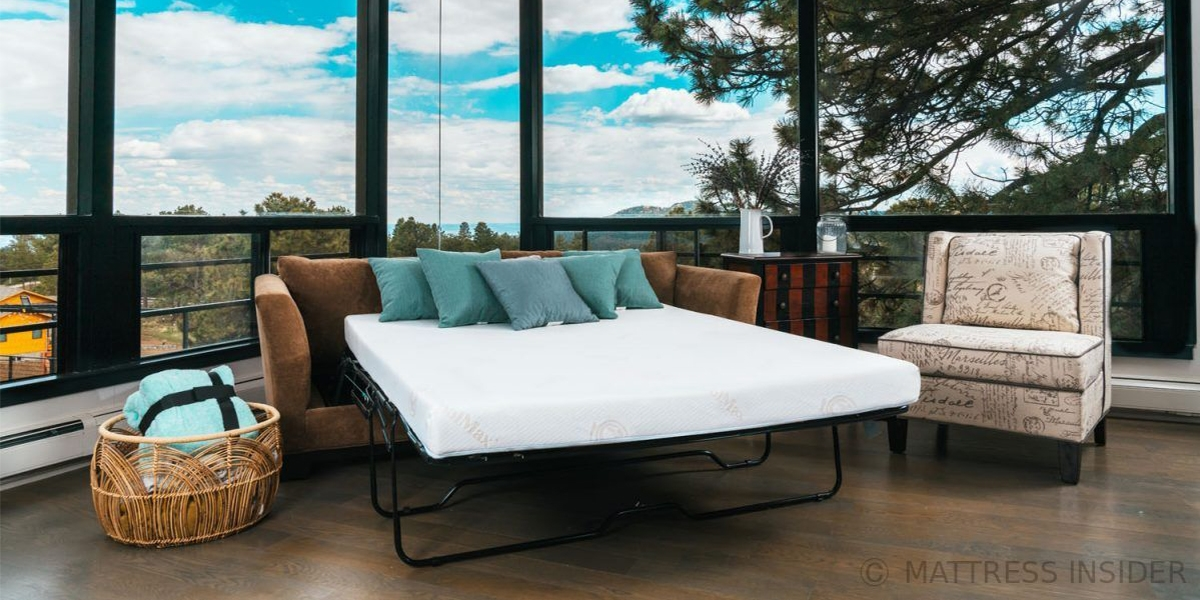 Deluxe Sofa Bed Mattress With Memory Foam.