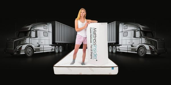 Elation Truck Mattress with Model and Box