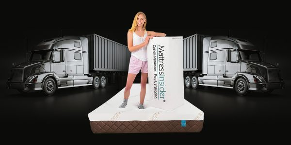 Luxury Mattress with Model and Box