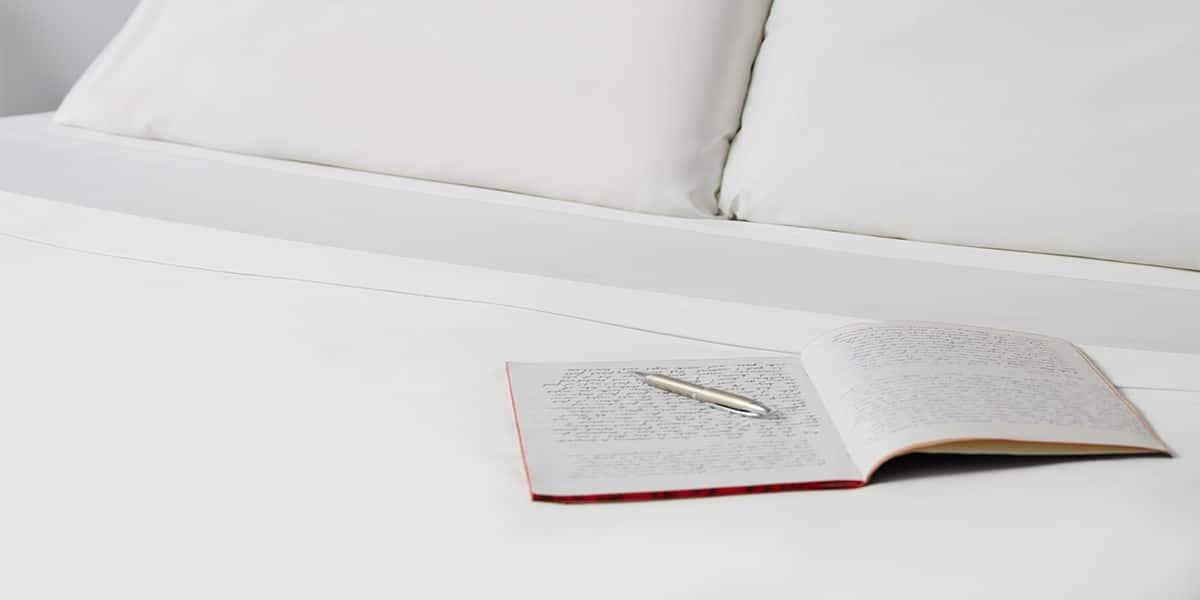 Custom Sheet Set with Book