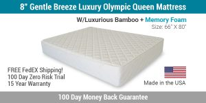 olympic queen mattress