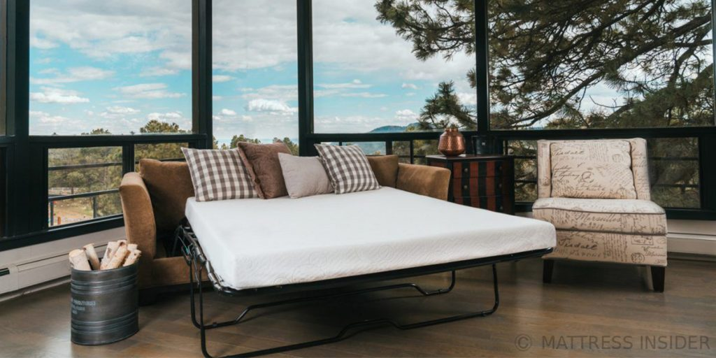 The Ovation Sofa Bed Mattress w/Cradle Contour Foam -