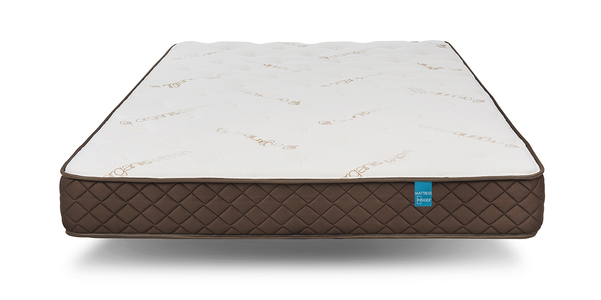 "8"" Park Meadow Pocketed Coil Mattress side shot"