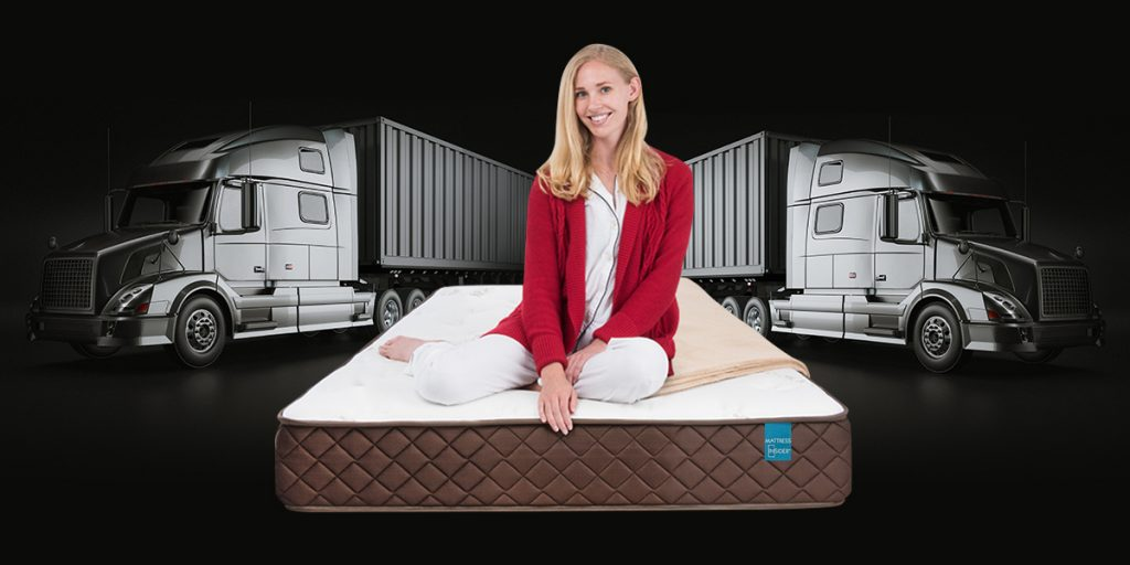 "8"" Park Meadow Pocketed Coil Truck Mattress II"