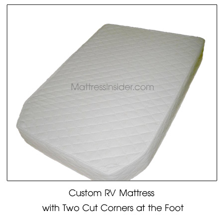 Custom Cut Corner RV Mattress