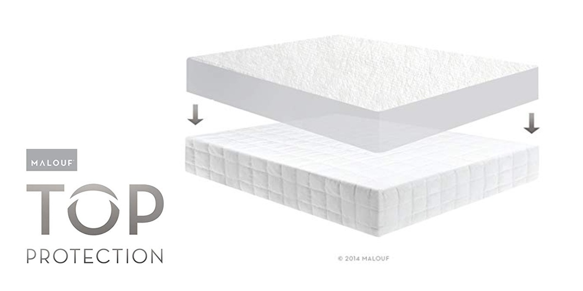 Fitted protector on mattress