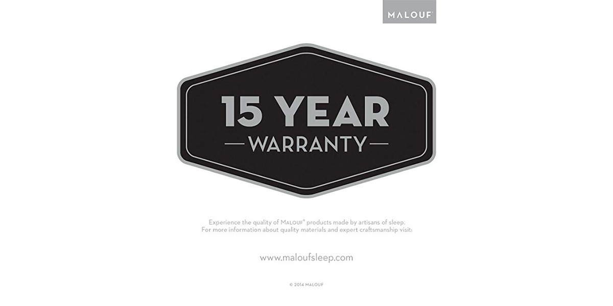 Fitted protector 15 year warranty