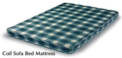coil sofa bed mattress